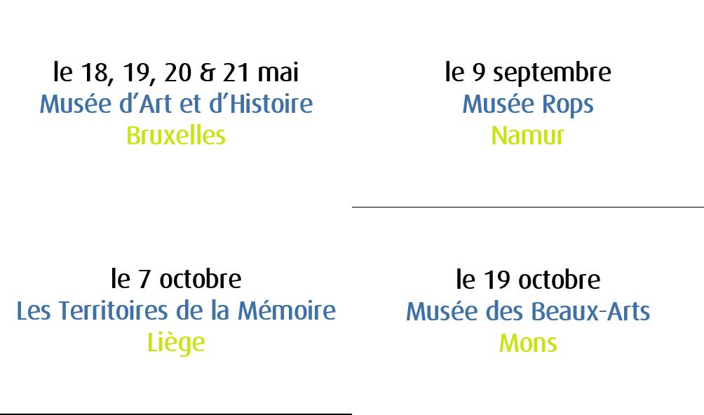 tournée généreuse calendrier